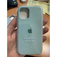 Накладка Silicone Case для iPhone 12 mini Mint