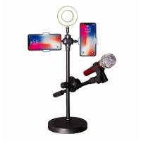 Настольный штатив стойка для смартфона, микрофона Mobile Phone Stand