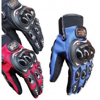 Перчатки Pro-Biker с защитными вставками (XL)