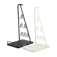 Подставка для ручных пылесосов с держателями для насадок (металл) белый