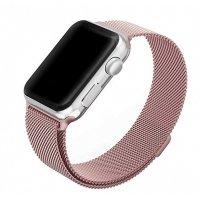 Ремешок для Apple Watch 38/40 мм Миланская петля, Амарантово-розовый