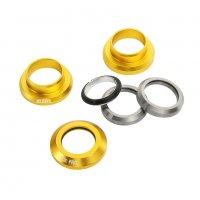 Рулевая колонка FOXPRO стандарт 1 1/8 silver/gold