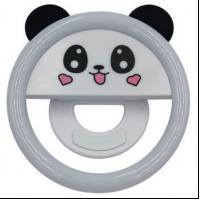 Селфи-лампа прищепка для смартфона Панда