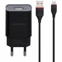 Сетевое зарядное устройство блок Borofone BA20A Sharp - Черное