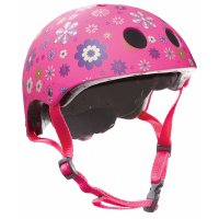 "Шлем ""Globber"" PRINTED JUNIOR 500-003XS/S (51-54см) / Розовый"