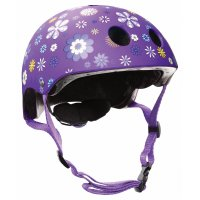 "Шлем ""Globber"" PRINTED JUNIOR 500-004XS/S (51-54см) / Фиолетовый"