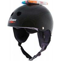 Шлем защитный с фломастерами Wipeout Black (L 8+) - чёрный