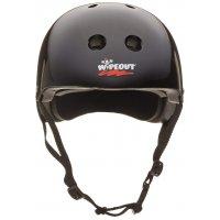 Шлем защитный с фломастерами Wipeout Black (M 5+) - чёрный