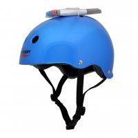 Шлем защитный с фломастерами Wipeout Blue Meallic (L8+) - синий