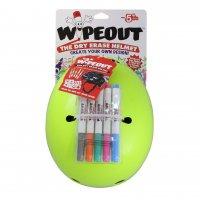 Шлем защитный с фломастерами Wipeout Neon Zest (L 8+) - кислотный