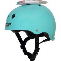 Шлем защитный с фломастерами Wipeout Teal Blue (M 5+)