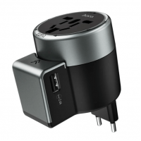 Универсальное сетевое зарядное устройство HOCO AC4 DUAL PORT