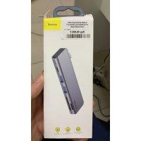 USB-концентратор Baseus Thunderbolt для MacBook Pro (Deep Space Grey) UCN3266