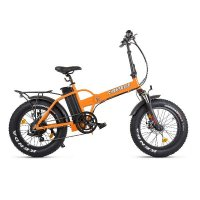 Велогибрид Cyberbike 500 Вт (Оранжево-черный-1873)
