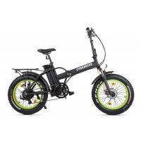 Велогибрид Cyberbike 500 Вт (Черно-зеленый-1863)