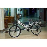 Велогибрид Eltreco e-Alfa GL Grey