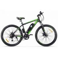 Велогибрид Eltreco XT 600 (Черно-зеленый-2130)