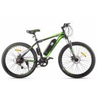 Велогибрид Eltreco XT 600 (Черно-зеленый-2368) Limited edition