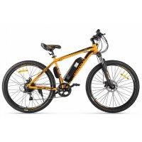 Велогибрид Eltreco XT 600 (оранжево-черный-2127)
