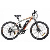 Велогибрид Eltreco XT 600 (серо-оранжевый-2128)