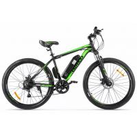 Велогибрид Eltreco XT 600D (Черно-зеленый-2383)