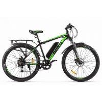 Велогибрид Eltreco XT 800 new (Черно-зеленый-2138)