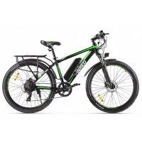 Велогибрид Eltreco XT 850 (Черно-зеленый-2143)