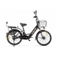 Велогибрид GREEN CITY e-ALFA  (Черный-2151)