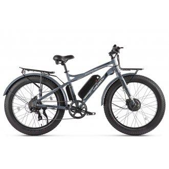 Велогибрид VOLTECO BIGCAT DUAL NEW (Серый-2309)