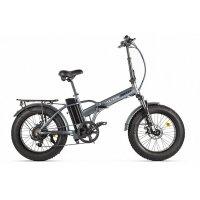 Велогибрид VOLTECO CYBER (Серо-черный-2172)