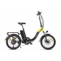 Велогибрид VOLTECO FLEX (черно-желтый-2198)