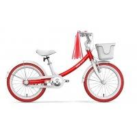 Велосипед детский Ninebot Kids Bike 14'' (3-6 лет) красный для девочки