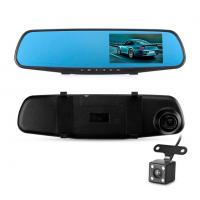 Видеорегистратор зеркало с 2 камерами Full HD 1080P Vehicle Blackbox DVR черный