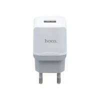 Зарядное устройство Hoco C22A Little superior с кабелем micro-USB (white)