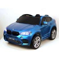 Детский Электромобиль Джип BMW X6M mini Синий (JJ2199 СК)