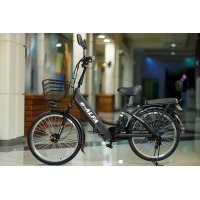 Велогибрид Eltreco e-ALFA black