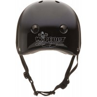 Шлем защитный зимний с фломастерами Wipeout Black (5+) черный