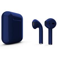 Беспроводные наушники Apple AirPods 2 (abyss глянцевый) (беспроводная зарядка)