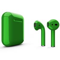 Беспроводные наушники Apple AirPods 2 (Billiard глянцевый) (беспроводная зарядка)