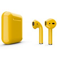 Беспроводные наушники Apple AirPods 2 (Caution глянцевый) (беспроводная зарядка)