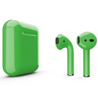 Беспроводные наушники Apple AirPods 2 (Clover глянцевый) (беспроводная зарядка)