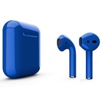 Беспроводные наушники Apple AirPods 2 (Cobalt глянцевый) (беспроводная зарядка)