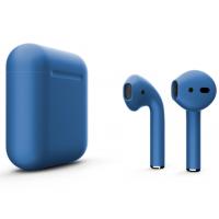 Беспроводные наушники Apple AirPods 2 (Cobalt матовый) (беспроводная зарядка)