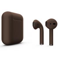 Беспроводные наушники Apple AirPods 2 (Coffe глянцевый) (беспроводная зарядка)