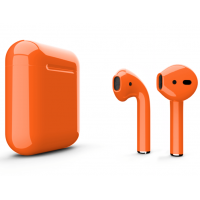 Беспроводные наушники Apple AirPods 2 (Crush глянцевый) (беспроводная зарядка)