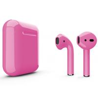 Беспроводные наушники Apple AirPods 2 (Flirt глянцевый) (беспроводная зарядка)
