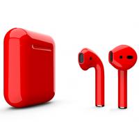 Беспроводные наушники Apple AirPods 2 (Formula глянцевый) (беспроводная зарядка)