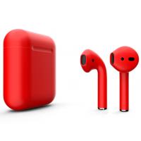 Беспроводные наушники Apple AirPods 2 (Formula матовый) (беспроводная зарядка)